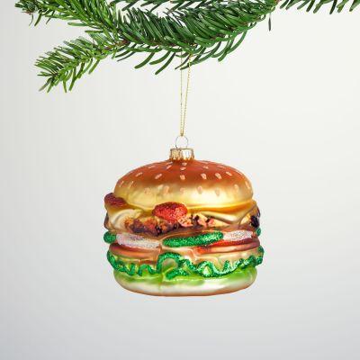 Weihnachtsdeko - Maxi Burger Christbaumschmuck