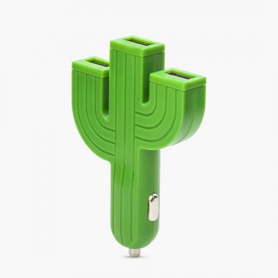 Ladegeräte - Kaktus-Ladegerät fürs Auto