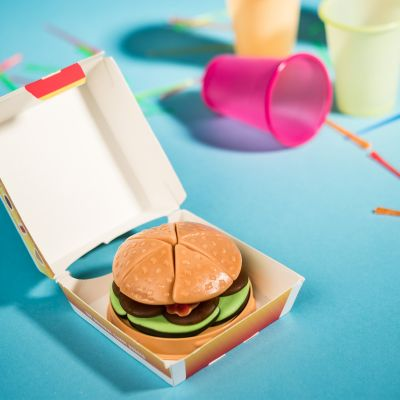 Weihnachtsgeschenke für Kinder - Candy Burger