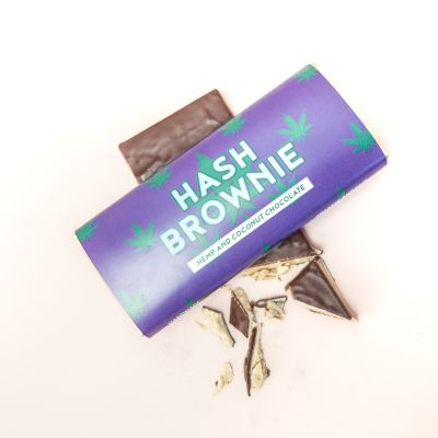 Süßigkeiten - Hash Brownie Schokolade