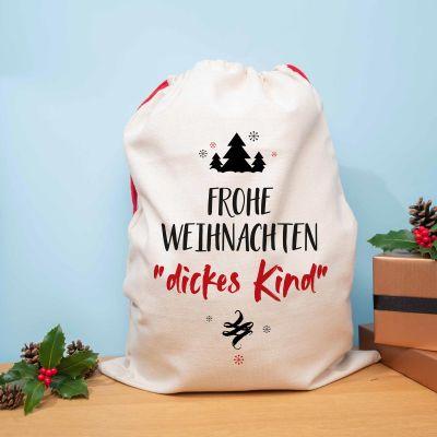 Geschenke für Kinder - Personalisierbarer Weihnachtssack