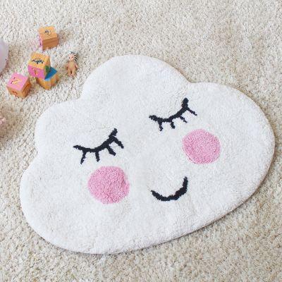 Badezimmer - Wolken Badezimmerteppich