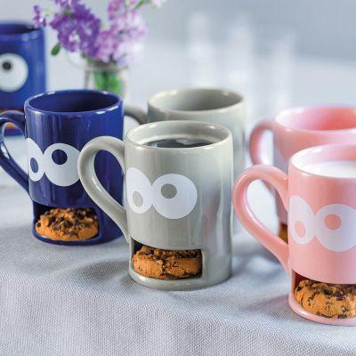 Weihnachtsgeschenke für Kinder - Monster-Tasse mit Keks-Fach
