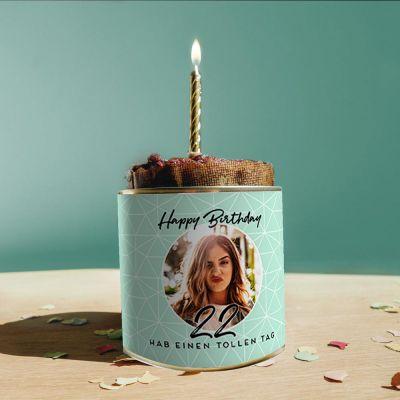 Geburtstagsgeschenke - Personalisierbarer Cancake zum Geburtstag