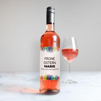 Oster-Wein mit Text