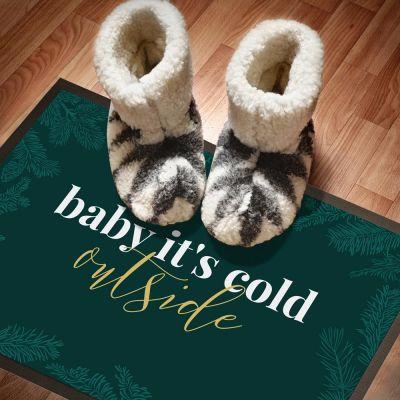 Winter - Die Fußmatte für Weihnachten