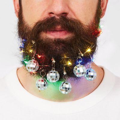 Geschenk für Freund - Disco Bart Dekoration