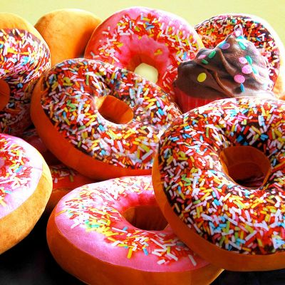 Weihnachtsgeschenke für Kinder - Donut Kissen