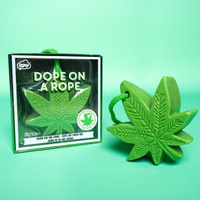 Witzige Geschenke - Cannabis-Blatt Seife
