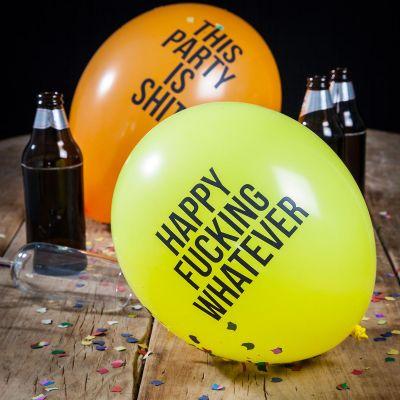 Geburtstagsgeschenke - Fiese Luftballons - 12er Pack