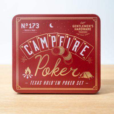 Partyspiele - Lagerfeuer Poker-Set