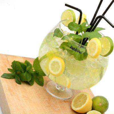 Sale - Fishbowl Glas Party-Set
