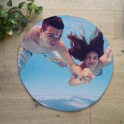 Exklusive Badezimmermatten - Personalisierbare Badezimmermatte mit Foto