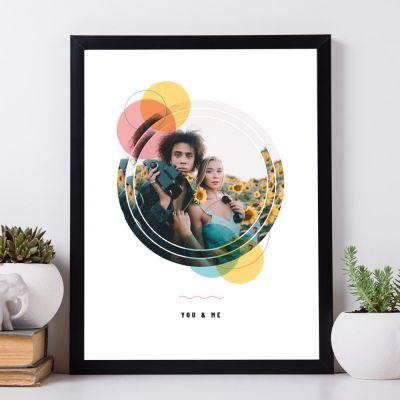 Abschiedsgeschenk - Personalisierbares Foto Poster