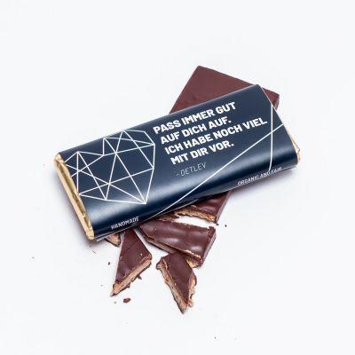 Valentinstag Geschenke - Personalisierbare Schokolade mit Text