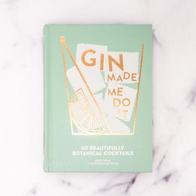 Bücher - Gin Made Me Do It Cocktailbuch