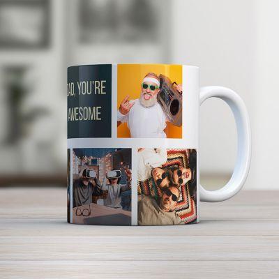Geschenk für Paare - Personalisierbare Fototasse