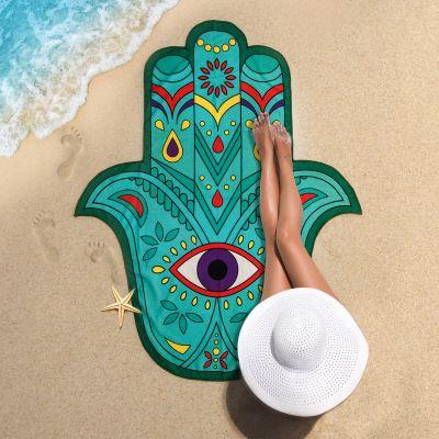 Draußen - Hand der Fatima Strandtuch