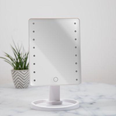 Badezimmer - Hollywood-Spiegel in Weiß mit LEDs