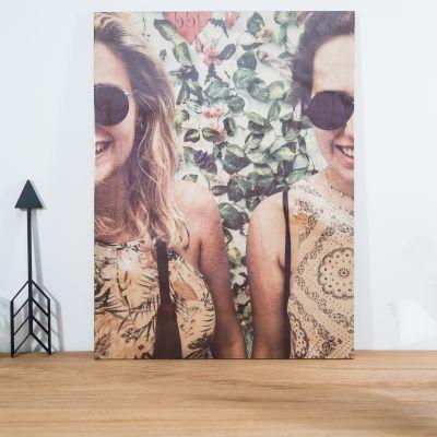 Weihnachtsgeschenke für Frauen - Personalisierbares Foto Holzbild