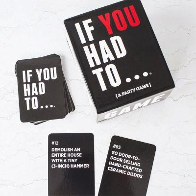 Witzige Geschenke - If You Had To Party Kartenspiel