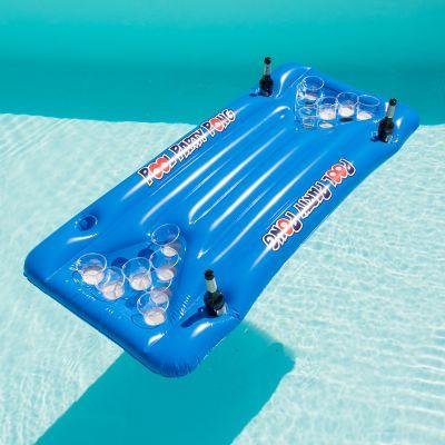 Partyspiele - Bier Pong Luftmatratze