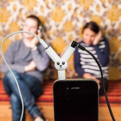 Handy Gadgets - Jack Rabbit Kopfhörer Splitter