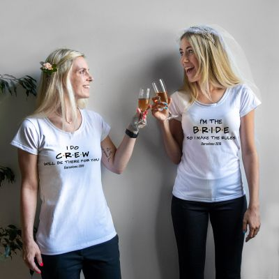 Kleidung & Accessoires - Personalisierbares T-Shirt zur Hochzeit