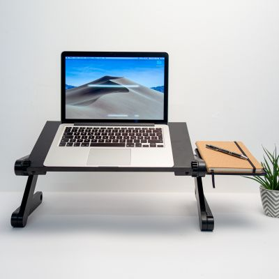 Home Gadgets - Universaler Laptop-Ständer in Schwarz