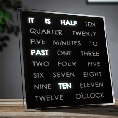 Top-Seller - LED Word Clocks