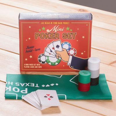 Partyspiele - Mini Poker Set