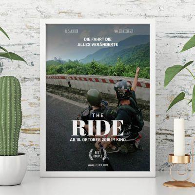 Weihnachtsgeschenke für Frauen - Personalisierbares Poster im Kinoplakat-Stil