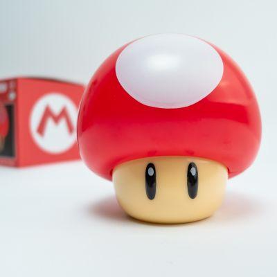 Weihnachtsgeschenke für Kinder - Super Mario Pilz Lampe