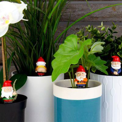 Freche Mini-Gartenzwerge 4er-Set