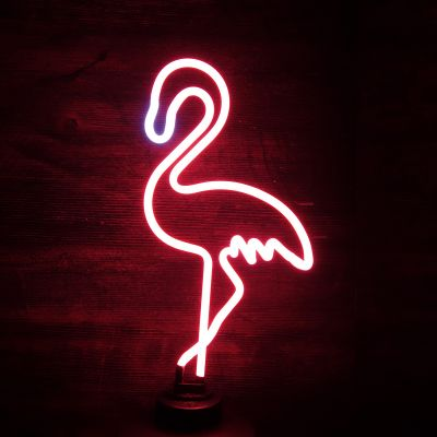 Beleuchtung - Flamingo Neon Leuchte