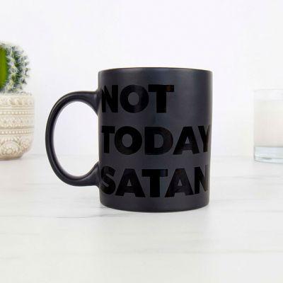 Tassen & Gläser - Not Today Satan Tasse