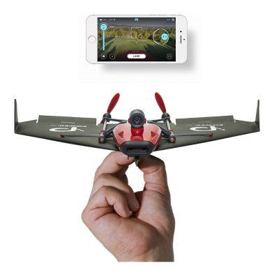 Spielzeug - PowerUp FPV Papierflieger-Drohne mit VR Headset