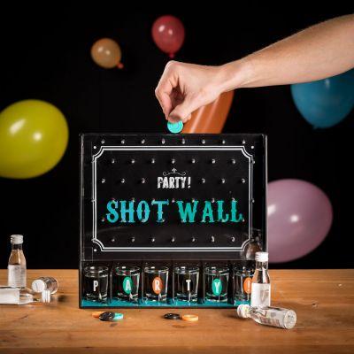 Partyspiele - Shotgläser-Wand Partyspiel
