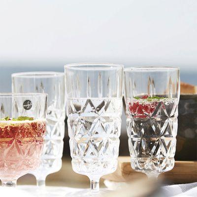 Sommer - Picknick-Gläser im 4er-Set