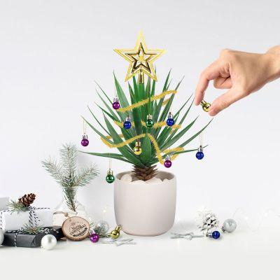 Weihnachtsdeko - Christbaumschmuck für Zimmerpflanzen