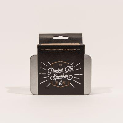 Gadgets - Mini Lautsprecher in der Blechdose