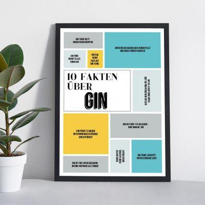 Top-Seller - Personalisierbares Poster 10 Fakten über ...