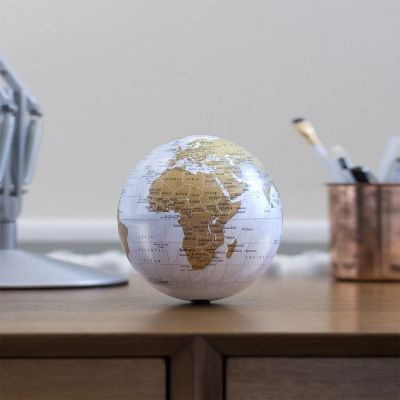 Deko - Rotierender Mini Globus