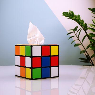 Geburtstagsgeschenke für Frauen - Rubiks Würfel Taschentuchbox aus Big Bang Theory