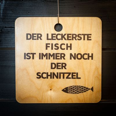 Exklusive Schneidebretter - Schnitzel-Fisch Schneidebrett
