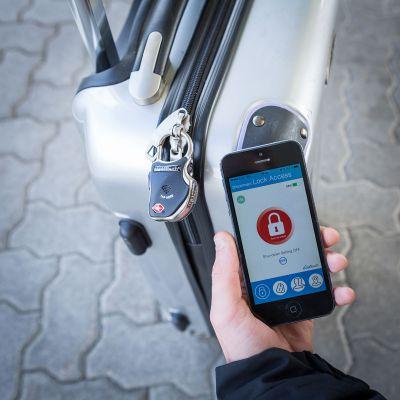 Vatertagsgeschenke - Smartes Bluetooth Gepäckschloss