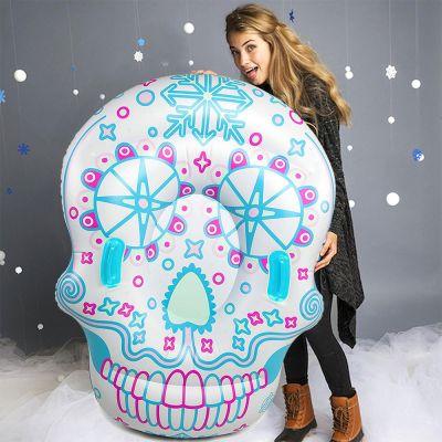 Weihnachtsgeschenke für Kinder - Sugar Skull Snow Tube
