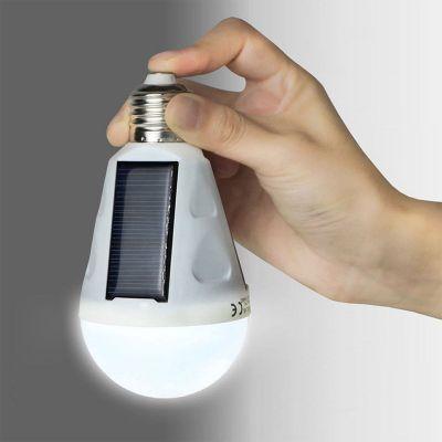 Home Gadgets - Solar Birne mit LED