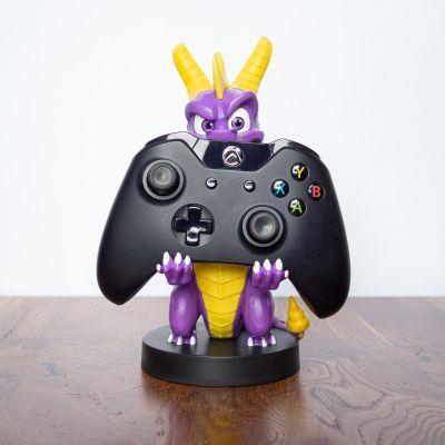 Spiel & Spass - Spyro Smartphone-Halter mit Ladekabel