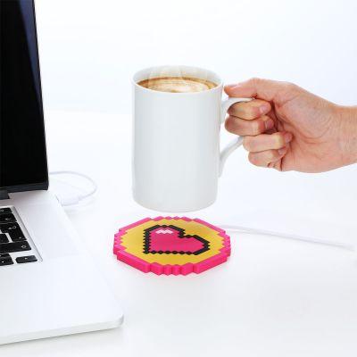 Computer & USB - USB Tassenwärmer Herz